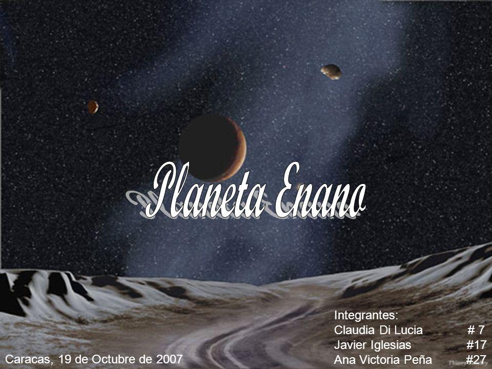 Planeta Enano Integrantes: Claudia Di Lucia # 7 Javier Iglesias #17