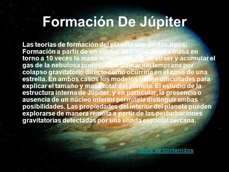 Formación De Júpiter