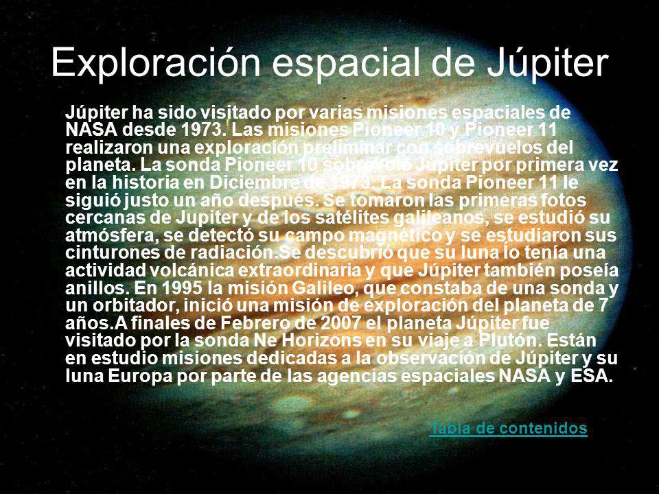 Exploración espacial de Júpiter