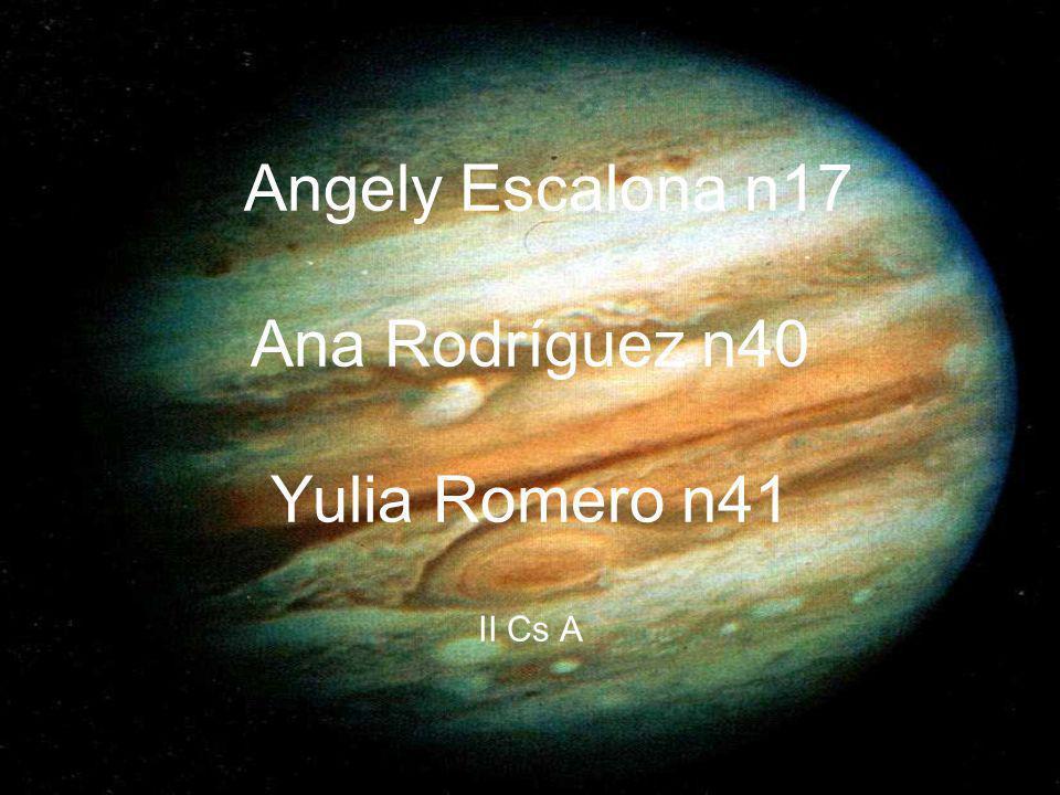 Angely Escalona n17 Ana Rodríguez n40 Yulia Romero n41 II Cs A