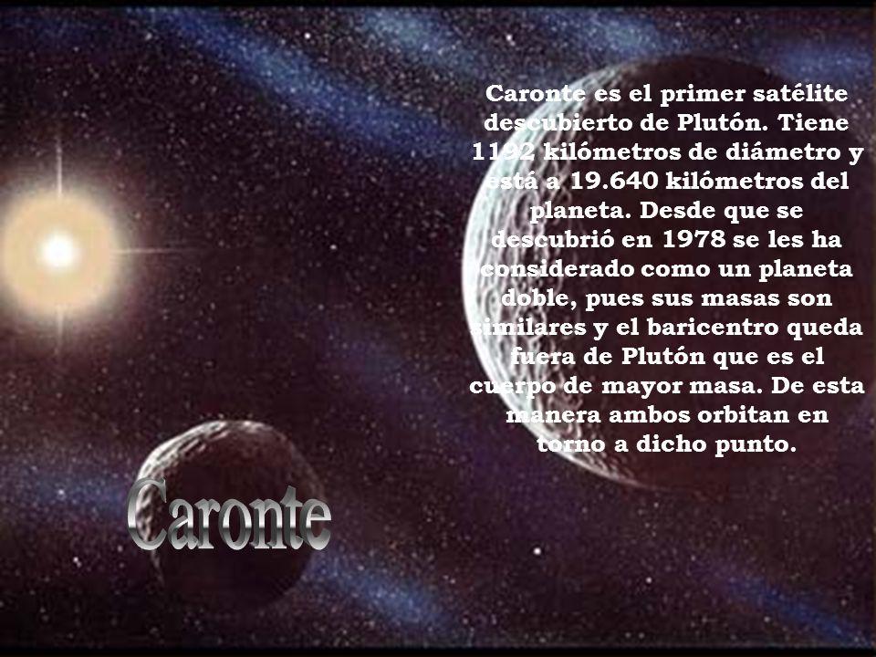 Caronte es el primer satélite descubierto de Plutón