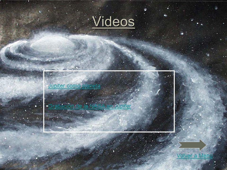 Videos Júpiter como planeta Grabación de la NASA en Júpiter