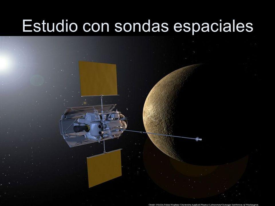 Estudio con sondas espaciales