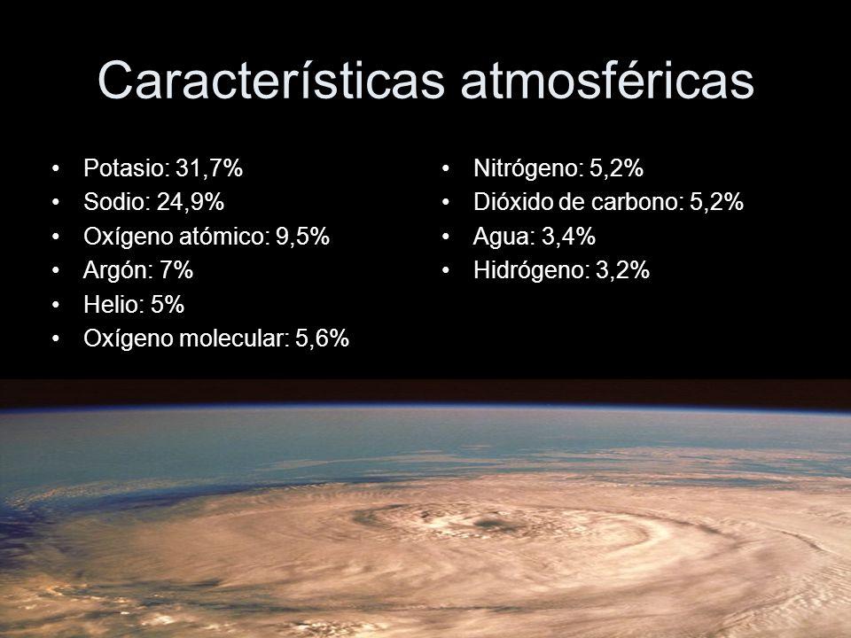 Características atmosféricas