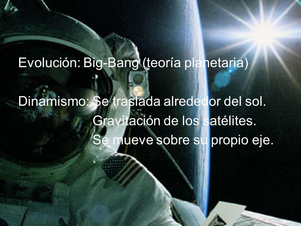 Evolución: Big-Bang (teoría planetaria)