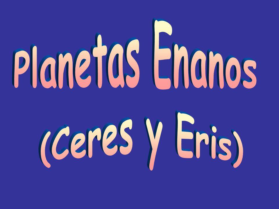 Planetas Enanos (Ceres y Eris)