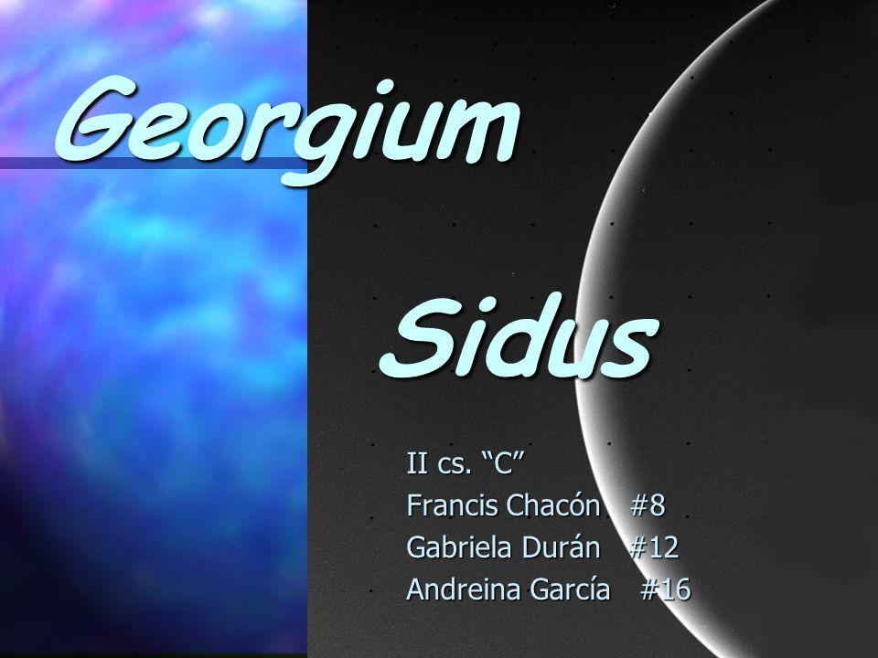 Georgium Sidus II cs. C Francis Chacón #8 Gabriela Durán #12