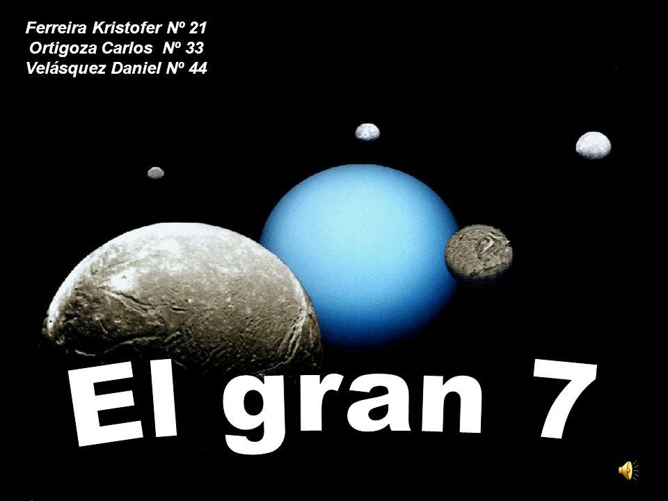 El gran 7 Ferreira Kristofer Nº 21 Ortigoza Carlos Nº 33