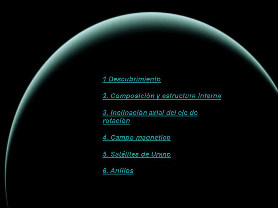 INDICE 1 Descubrimiento 2. Composición y estructura interna
