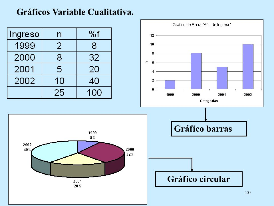 Gráficos Variable Cualitativa.