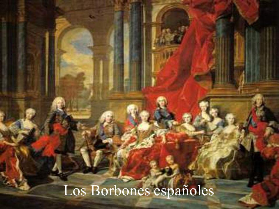 Los Borbones españoles