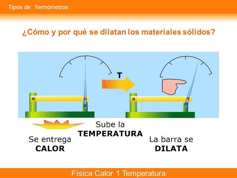 ¿Cómo y por qué se dilatan los materiales sólidos