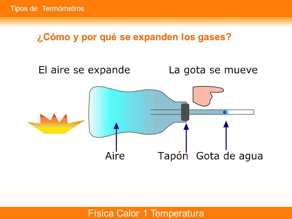 ¿Cómo y por qué se expanden los gases