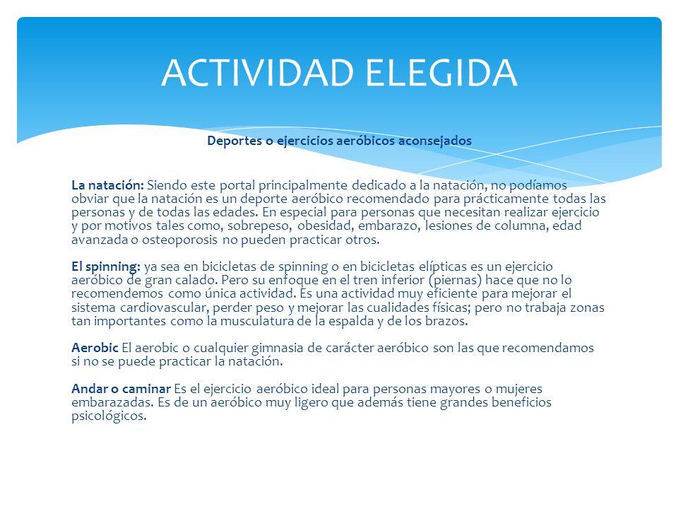 ACTIVIDAD ELEGIDA