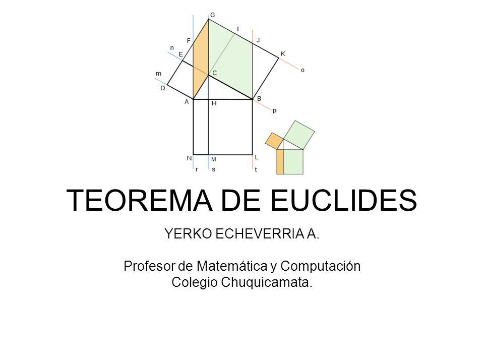 Profesor de Matemática y Computación