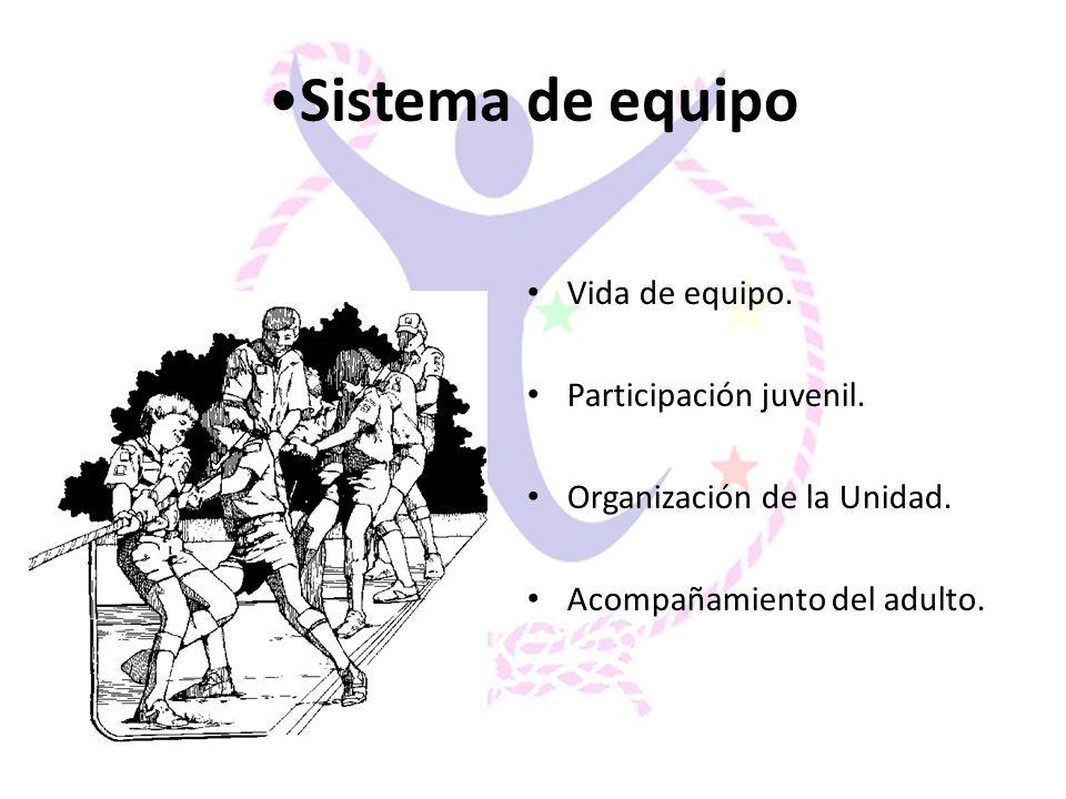 Sistema de equipo Vida de equipo. Participación juvenil.
