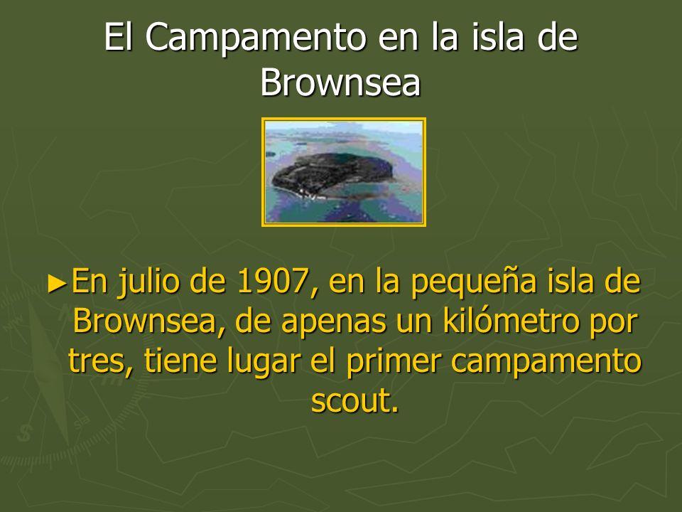 El Campamento en la isla de Brownsea