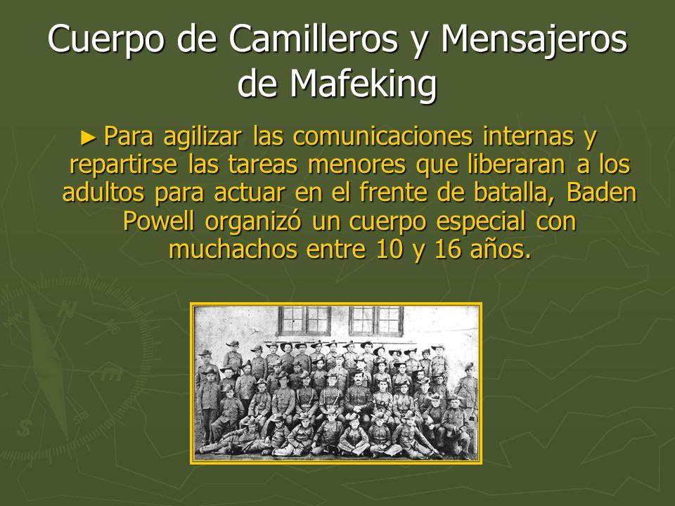 Cuerpo de Camilleros y Mensajeros de Mafeking