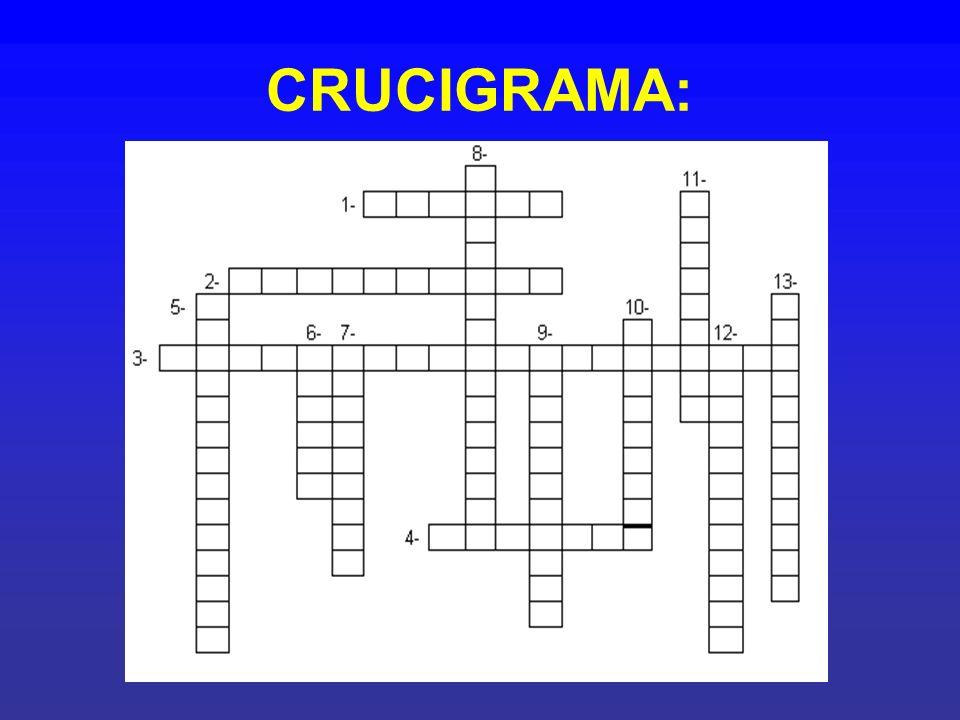 CRUCIGRAMA: