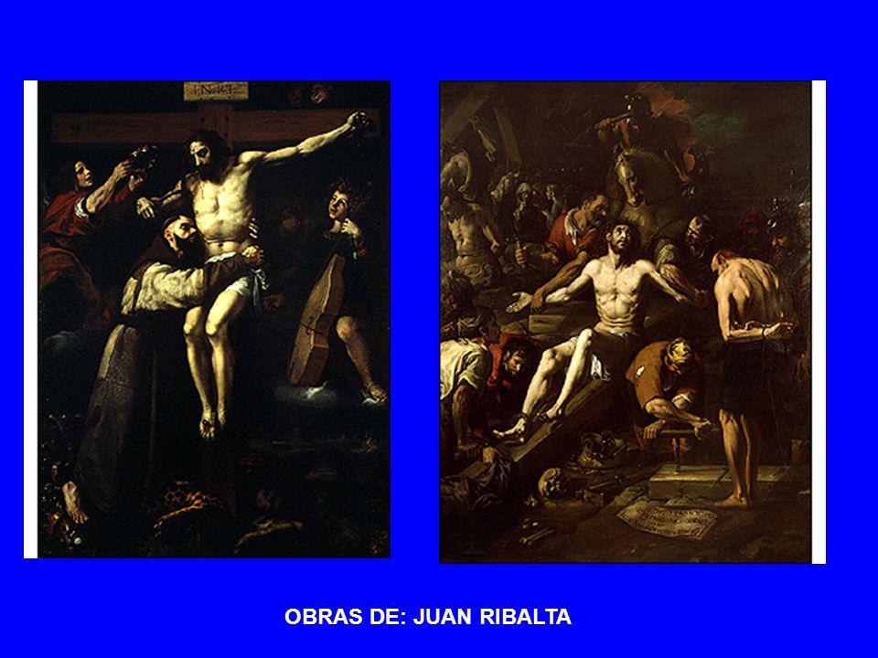 OBRAS DE: JUAN RIBALTA