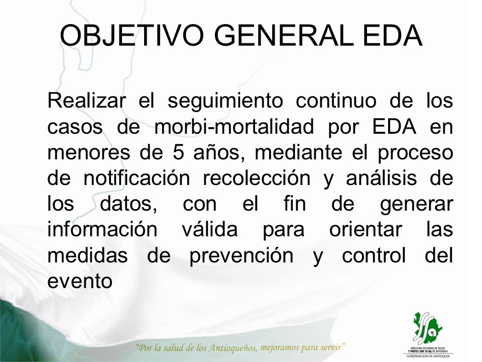 OBJETIVO GENERAL EDA