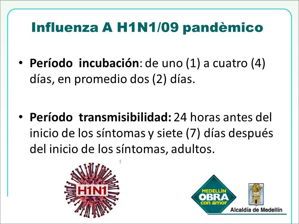 Influenza A H1N1/09 pandèmico
