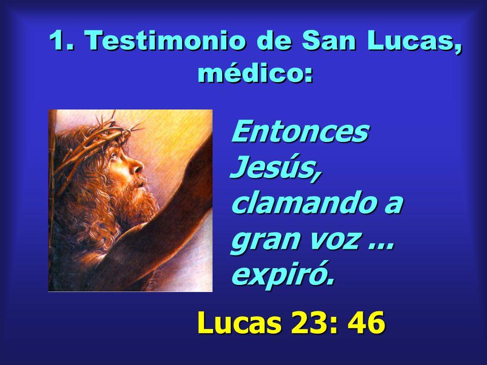 1. Testimonio de San Lucas, médico: