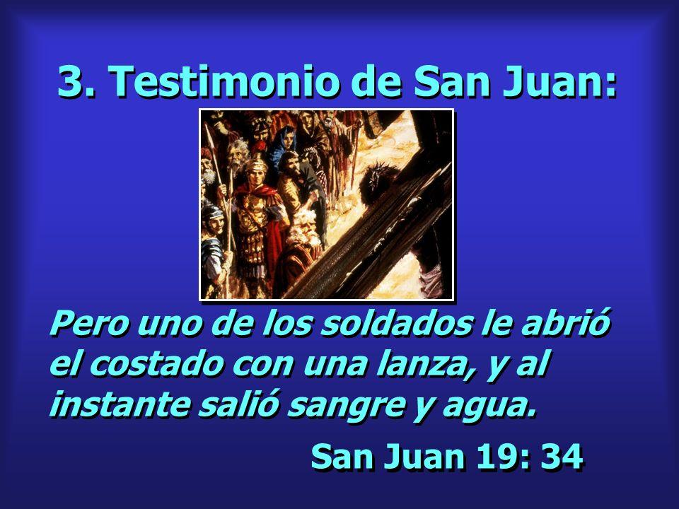 3. Testimonio de San Juan: