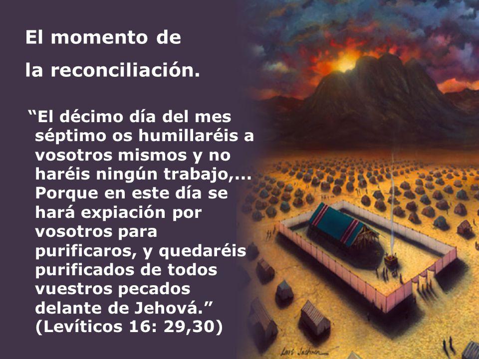 El momento de la reconciliación.