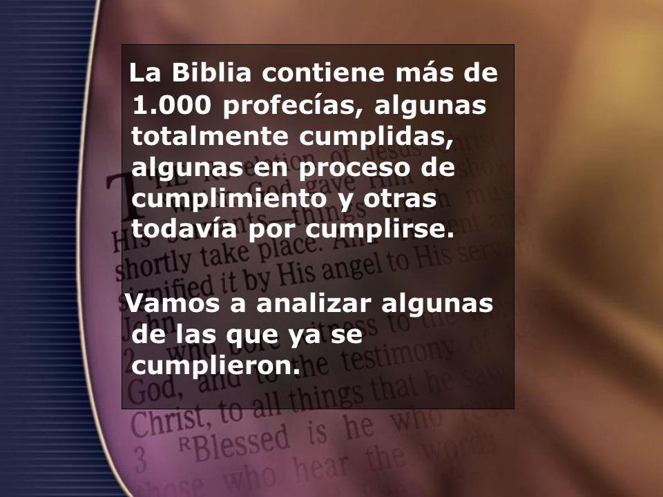 La Biblia contiene más de 1