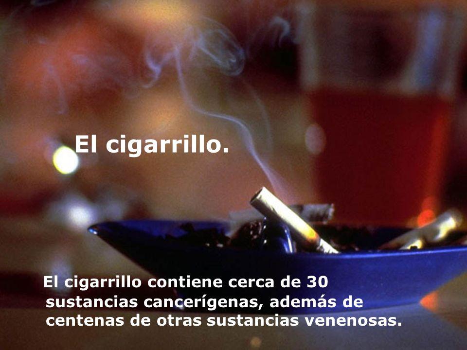 El cigarrillo.
