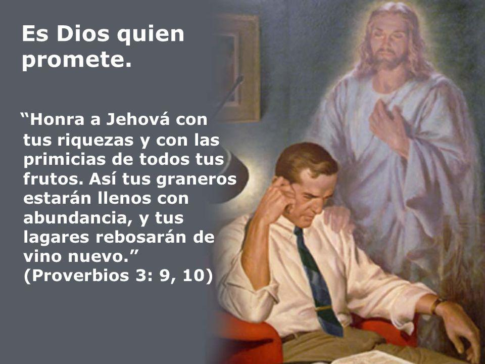Es Dios quien promete.