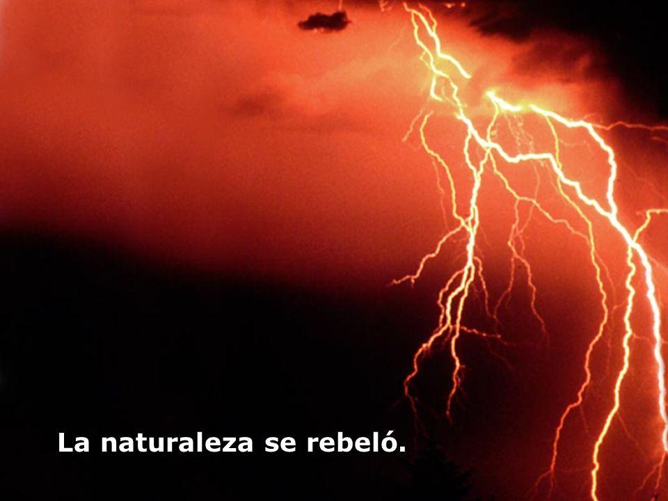 La naturaleza se rebeló.