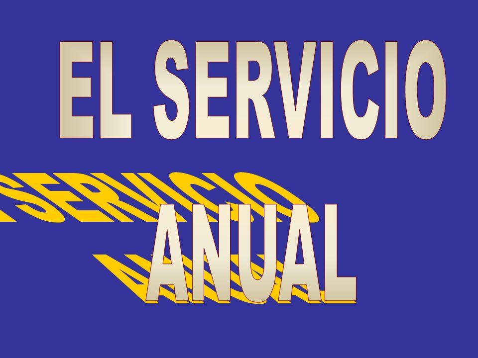 EL SERVICIO ANUAL