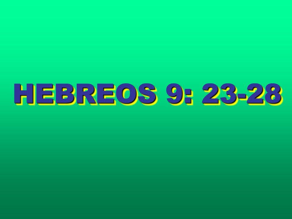 HEBREOS 9: 23-28
