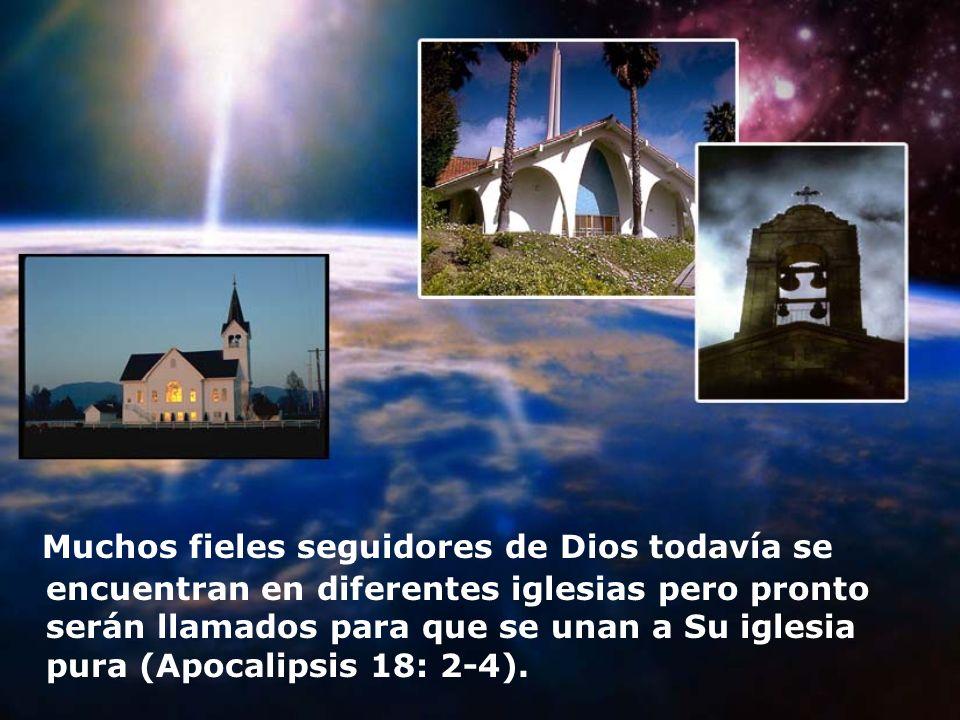 Muchos fieles seguidores de Dios todavía se encuentran en diferentes iglesias pero pronto serán llamados para que se unan a Su iglesia pura (Apocalipsis 18: 2-4).