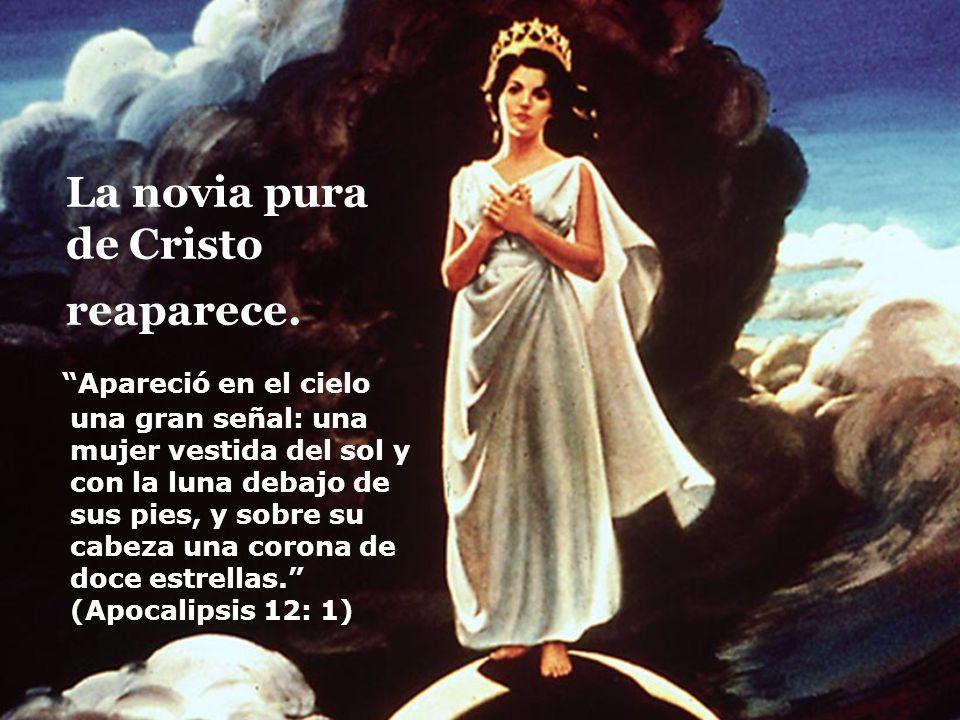 La novia pura de Cristo reaparece.
