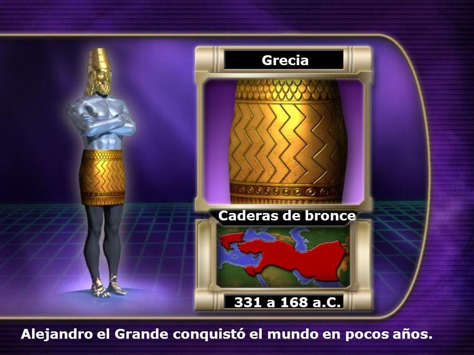 Grecia Caderas de bronce 331 a 168 a.C.