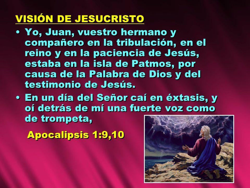 VISIÓN DE JESUCRISTO
