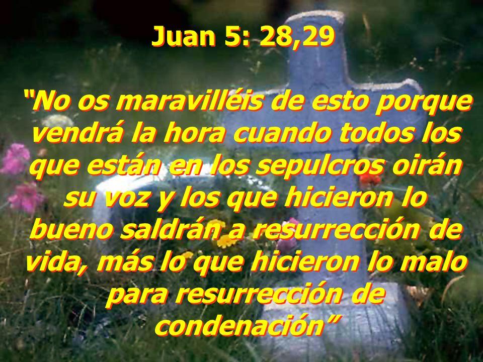 Juan 5: 28,29