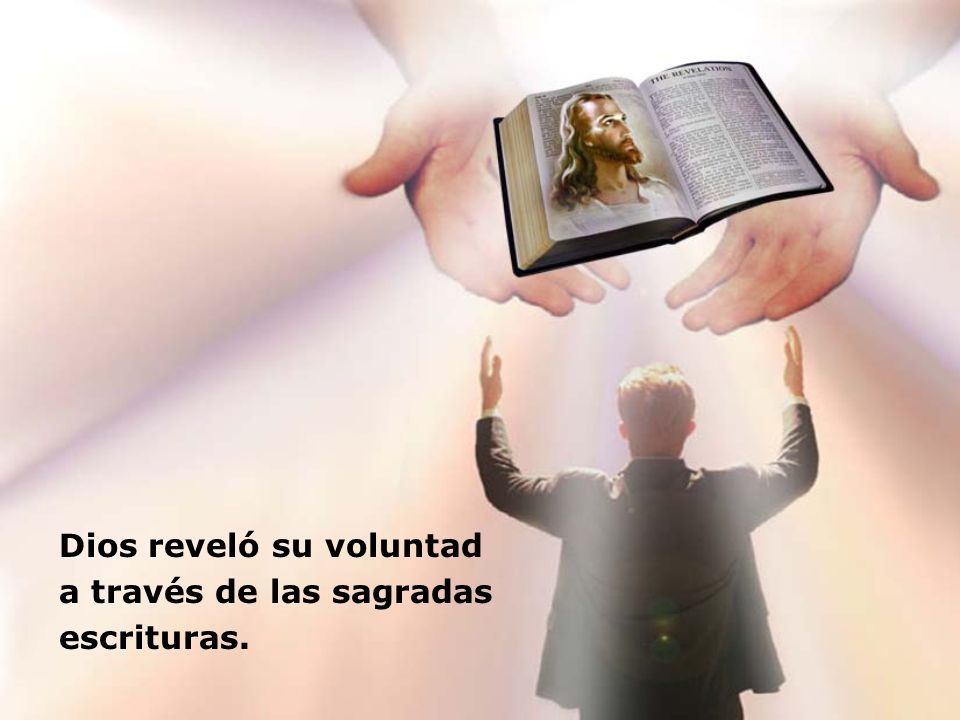 Dios reveló su voluntad
