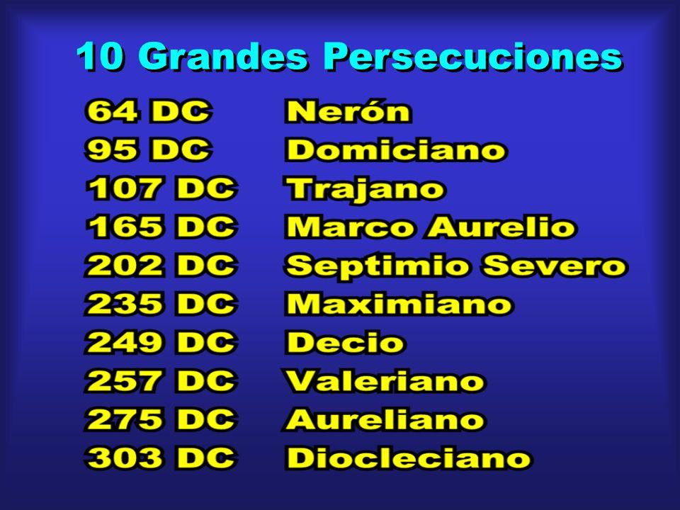 10 Grandes Persecuciones