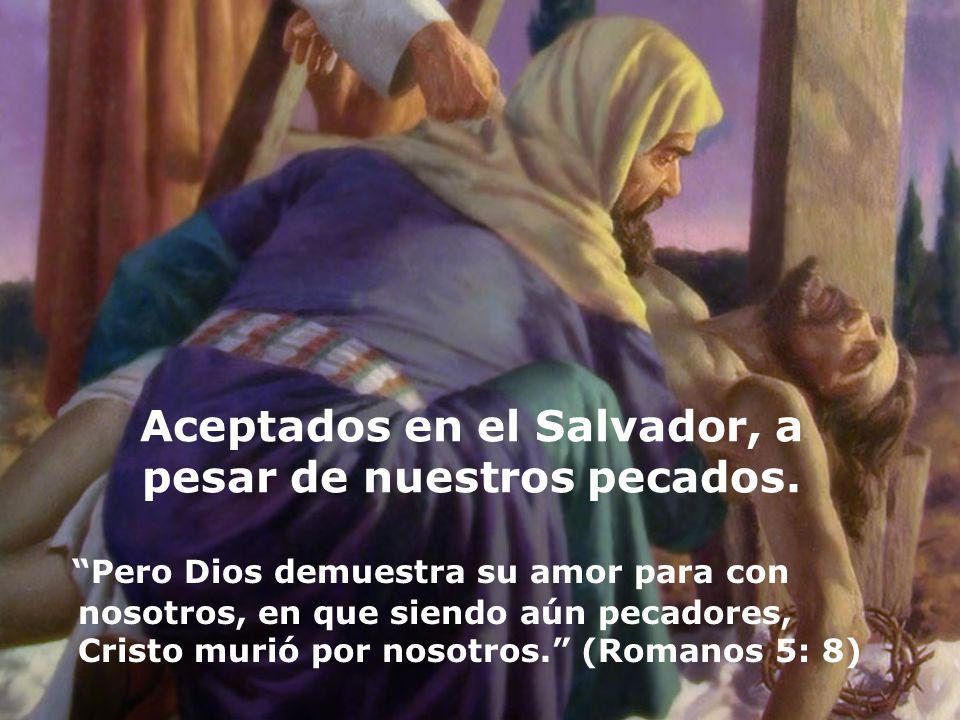 Aceptados en el Salvador, a pesar de nuestros pecados.