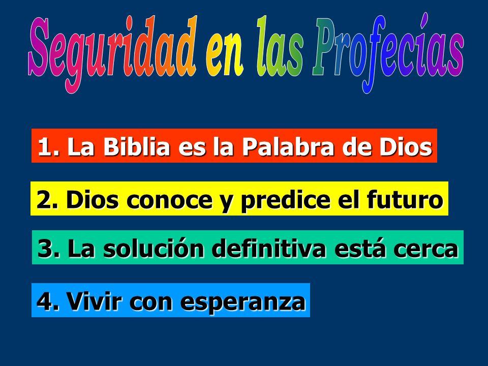 Seguridad en las Profecías