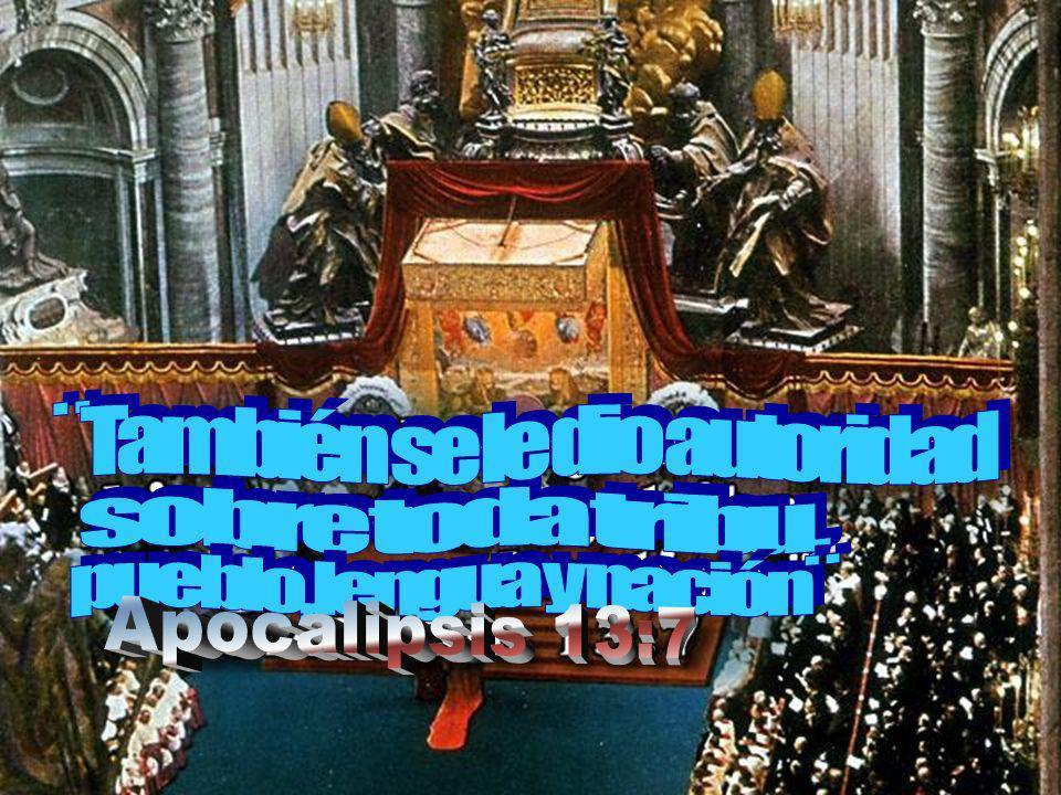 ¨También se le dio autoridad pueblo, lengua y nación¨