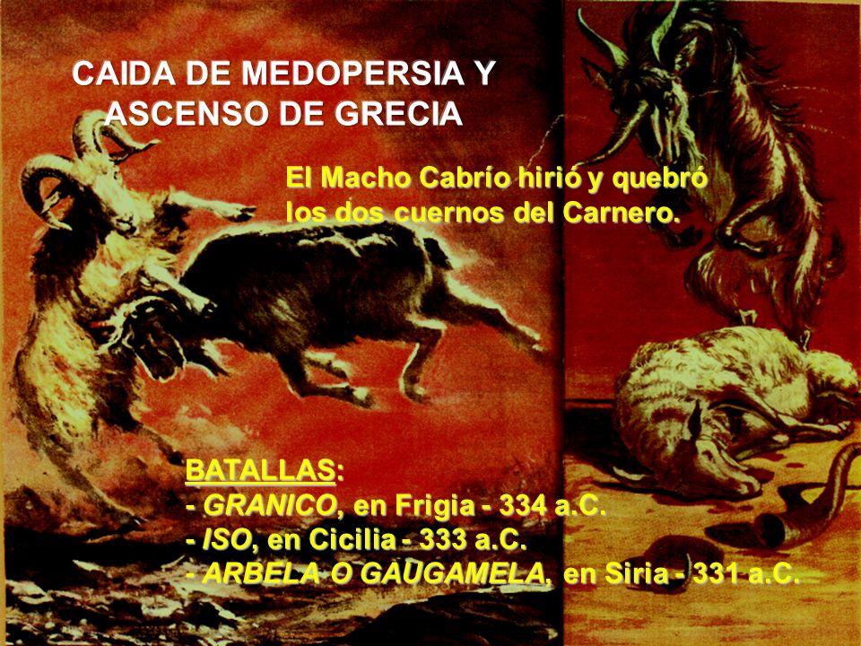 CAIDA DE MEDOPERSIA Y ASCENSO DE GRECIA