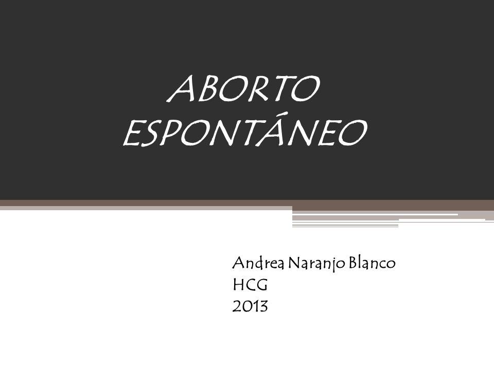 Andrea Naranjo Blanco HCG 2013