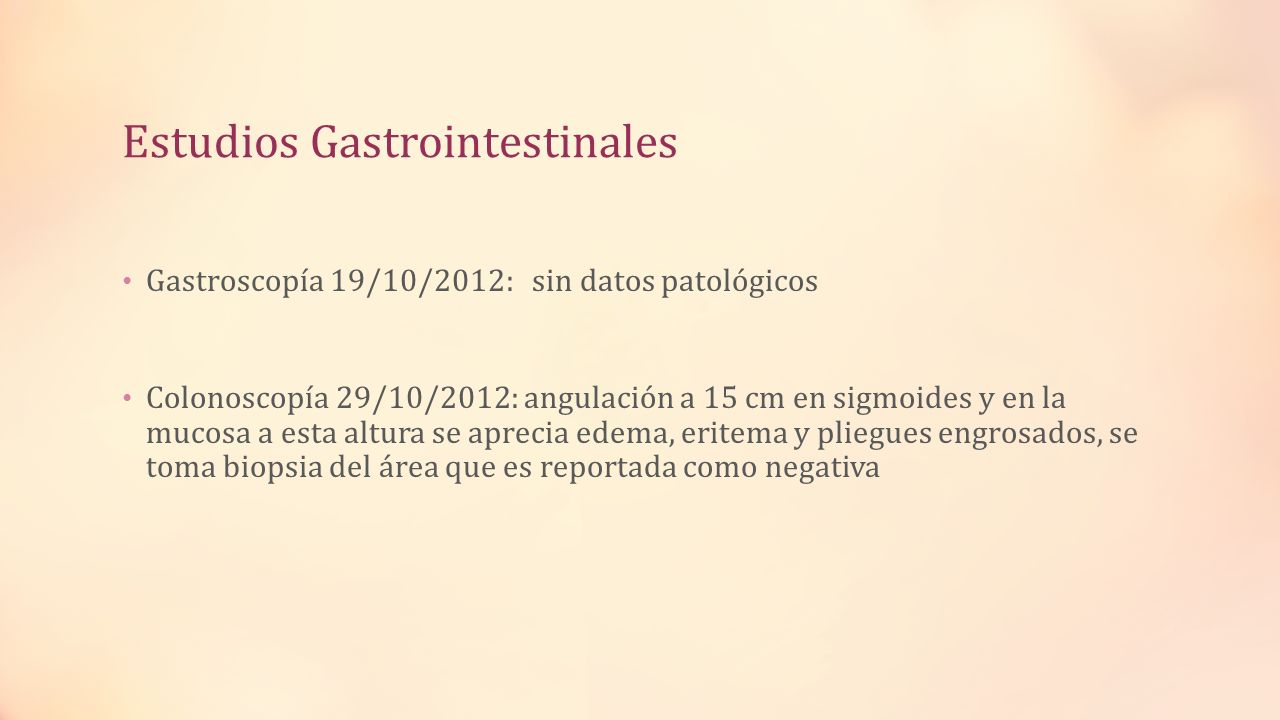 Estudios Gastrointestinales