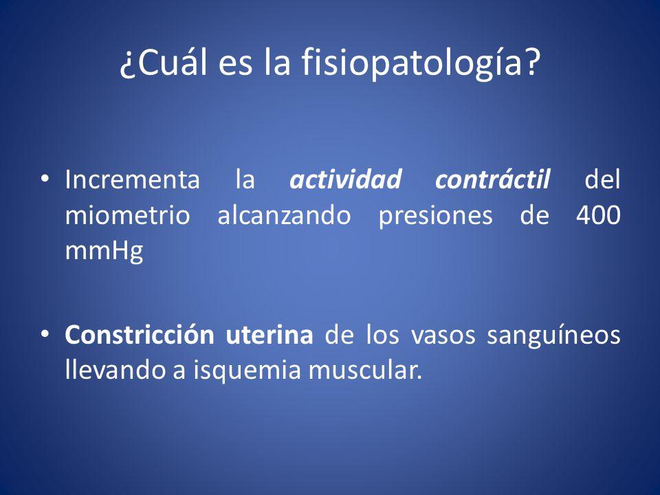 ¿Cuál es la fisiopatología