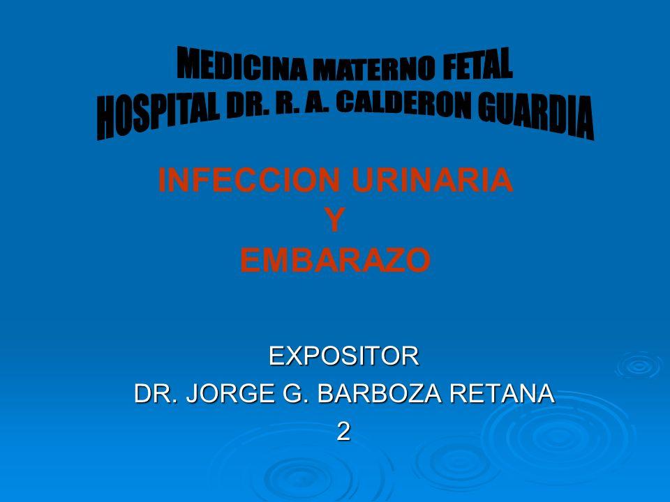 INFECCION URINARIA Y EMBARAZO